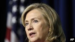 US Secretary of State Hillary Rodham Clinton, May 16, 2011