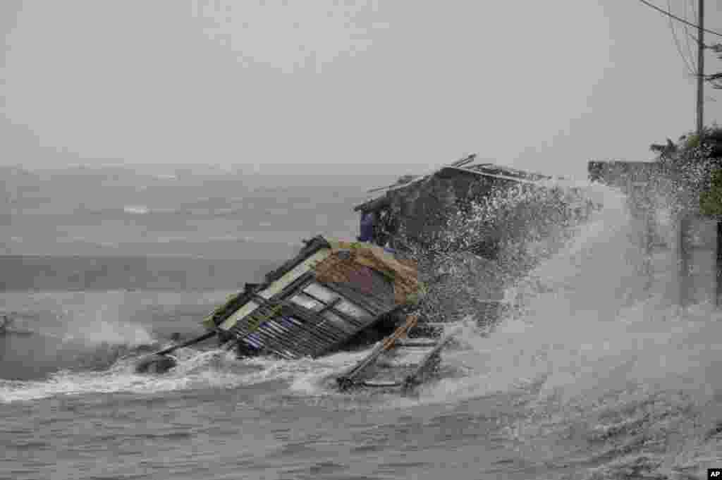 سمندری طوفان ہائیان کو فلپائن میں یولانڈا کا نام دیا گیا ہے اور یہ اب تک ریکارڈ کئے گئے شدید ترین سمندری طوفانون میں سے ایک ہے۔