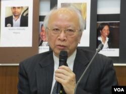 台湾声援中国人权律师网络召集人郭吉仁律师 (美国之音张永泰拍摄)