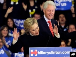 Hillary ve Bill Clinton