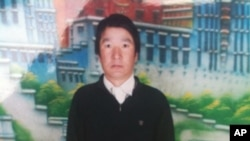 3月17日为抗议中国藏区政策而自焚身亡的藏民索纳塔吉