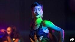 La cantante Rihanna brillará en la capital de Estados Unidos.