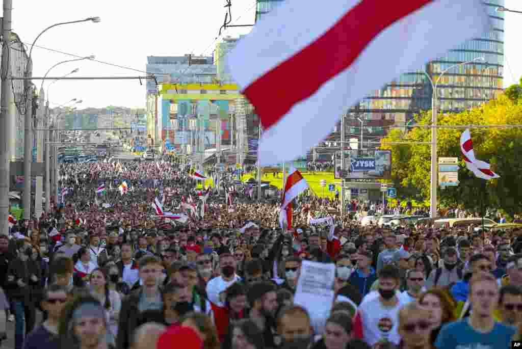Minsk, Belarus, 20-sentabr, 2020
