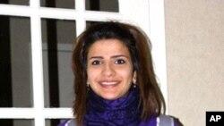 Drury University student Maram Al-Butairi