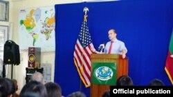 Ben Rhodes (US Embassy Rangon)