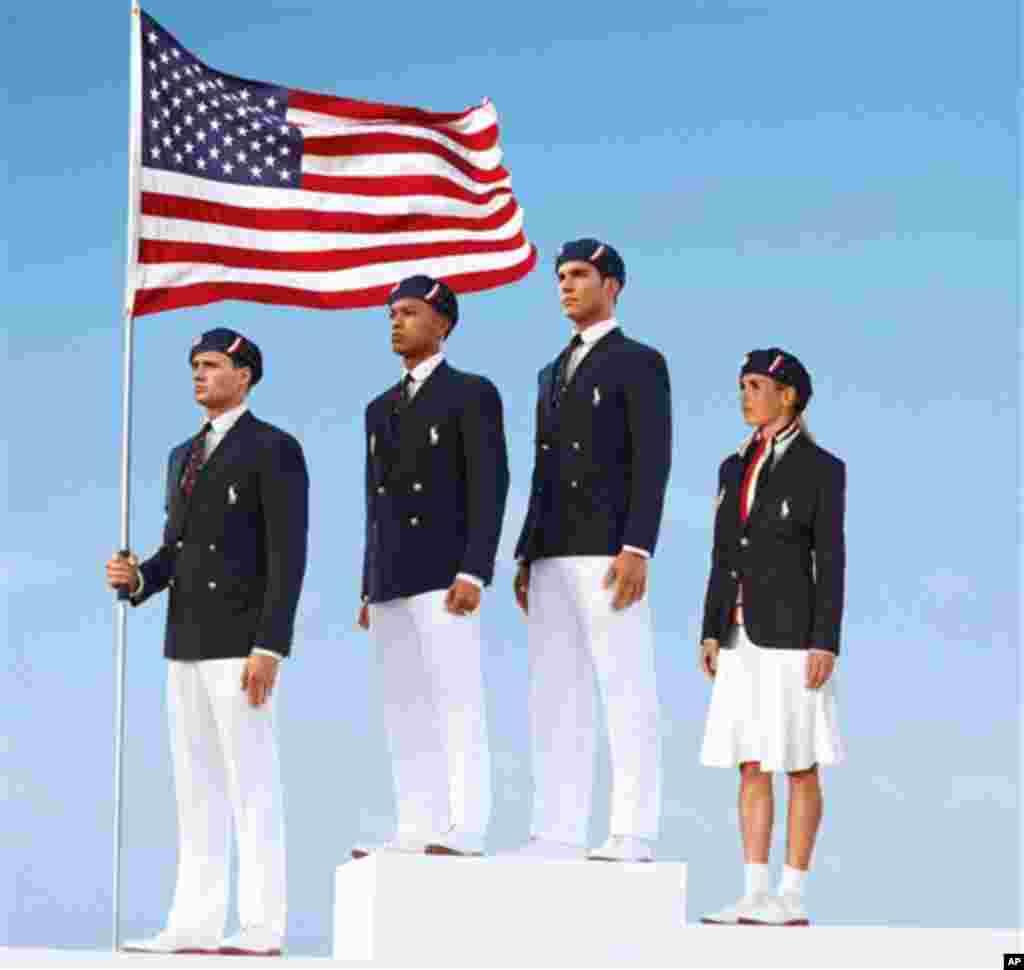 ABŞ Olimpiya komandasının rəsmi forması Amerika dizayneri Ralf Loren tərəfindən hazırlanıb