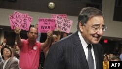 ABŞ-ın müdafiə naziri vəzifəsinə nominasiya edilən Leon Panetta Senatda ifadə verib