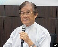 台湾前国防部长 蔡明宪