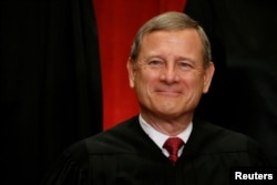 FILE - U.S. Chief Justice John Roberts
