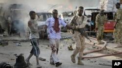 索马里摩加迪沙2017年10月卡车炸弹袭击造成512人丧生