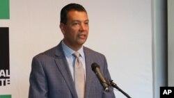 Le secrétaire d'Etat de la Californie, Alex Padilla, 28 juin 2016