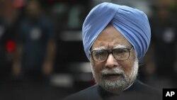 인도의 만모한 싱 총리(자료사진)
