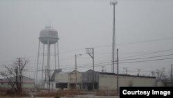 امریکی ریاست اوکلا ہاما کا ویران قصبہ پیچر ( فائل)