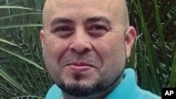 Foto familiar del agente Gerardo Hernández, que resultó muerto en el tiroteo del aeropuerto de Los Ángeles, el viernes pasado.