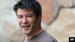 FILE - Uber CEO and co-founder Travis Kalanick.