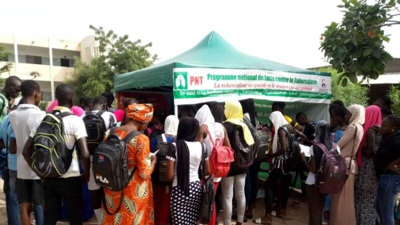 Sensibilisation autour de la tuberculose à Dakar