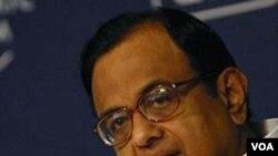 Menteri Dalam Negeri India, Palaniappan Chidambaram.