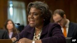 La secrétaire d'Etat adjointe chargée des Affaires africaines, Linda Thomas-Greenfield