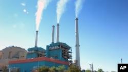 蒙大拿州一个燃煤发电厂