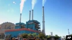 Pembangkit listrik AS di kota Colstrip, negara bagian Montana (foto: dok).