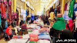 برگرازی نمایشگاه ها از دلایل عمدۀ فروشات صنعتکاران زن ولایت بامیان خوانده شده است