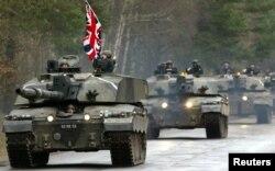 Brtianiyanın Challenger 2 tankı