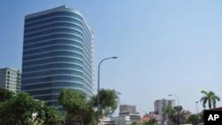 Edifício da Sonangol em Luanda