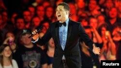 캐나다 출신 팝가수 마이클 부블레(Michael Buble).