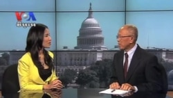 CTN Host Talks About VOA Khmer
