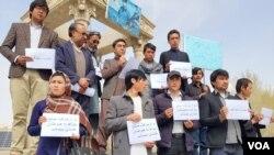 فعالان مدنی بامیان از طرفهای درگیر در کشور خواستند که از ادامۀ جنگ دست بردارند و پروسۀ صلح را در پیش گیرند