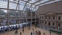 Inside the Metropolitan Museum of Art in New York City