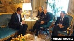 Premijer Srbije tokom susreta sa predsednikom Italije Đorđom Napolitanom (gov.rs)