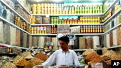 بازار میوه خشک شهر مزارشریف