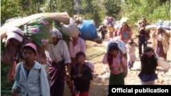 Kachin IDPs fled their homes as fighting escalates
