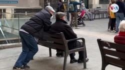 Venezolanos jubilados y sin pensión en España