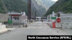 Верхний Ларс, граница между Грузией и Россией