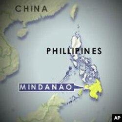 Philippines, Mindanao map