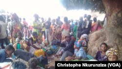 Des enfants réfugiés dans la région de Rumonge, au Burundi, le 26 janvier 2018. (VOA/ChristopheNkurunziza)