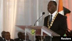 科特迪瓦总统瓦塔拉。