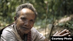 "FILE PHOTO - An elder of ""Chong"" ethnic indigenous community in Areng valley. (Courtesy Photo)"