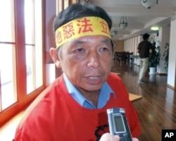 台湾捍卫农乡联盟会长刘庆昌