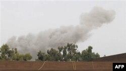 Після повітряного удару сил НАТО на Триполі