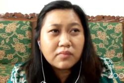 Aktivis Save Our Borneo lPinarsita Juliana. (Foto: VOA/Nurhadi Sucahyo)