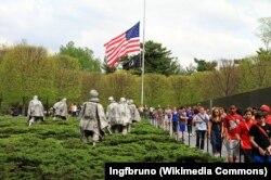 朝鲜战争老兵纪念碑。(照片来源:维基百科)