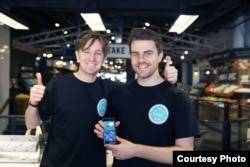 Jamie Crummie and Chris Wilson, co-founders Too Good To Go
