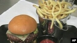 Gourmet burgers gaining popularity as recession-weary consumers dial back on more expensive restaurant fare
