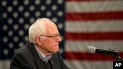 Le sénateur Bernie Sanders