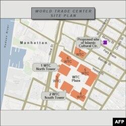 Sıfır Noktası yakınındaki İslam Merkezi'nde bir de cami olması planlanıyor