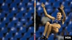 La brasileña Fabiana Murer consiguió el primer título mundial para Brasil en el Mundial de Atletismo que se disputa en Corea del Sur.