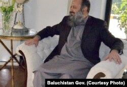 وزیر اعلیٰ بلوچستان جام کمال، فائل فوٹو